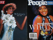 LOT 2 WHITNEY HOUSTON 1963-2012 LIFE & PEOPLE Tribute Remembering $25.98 USED