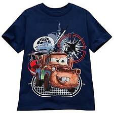Disney Cars 2 Tow Mater Finn McMissile T-Shirt Size 5/6