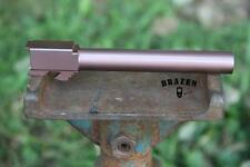 Pistol Barrel Rose Titanium Nitride Barrel Coating Glock Sig S&W Springfield