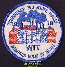 LMH Patch 1979 WINNEBAGO TRAVELERS Club RV Motorhome WIT W.I.T. Memphis TN RALLY