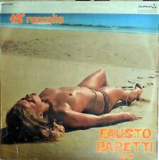 VINILE LP 33 GIRI RPM FAUSTO PAPETTI SAX 12 RACCOLTA MSAL77284 ITALY 1971