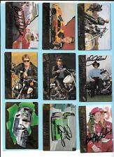 1994 Action Packed Nascar Autograph Lot(17) Jarrett, Bodine,Irvan, Schrader,Gant