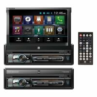 NEW XDVD156BT Dual 7 Single-DIN In-Dash DVD with Motorized Touchscreen
