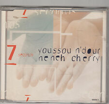 YOUSSOU N'DOUR & NENEH CHERRY - 7 seconds CD single