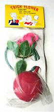 Dime Store Plastic Gag Joke Trick Squirting Flower 1960s NOS New Hong Kong
