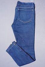 c34a59030f1cb J BRAND THE DEAL Zip Cuff Skinny Ankle Medium Wash Stretch Denim Jeans Size  27