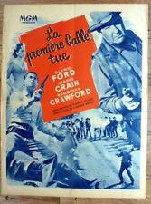french poster 60 x 80 western THE FASTEST GUN ALIVE, GLENN FORD, JEANNE CRAIN