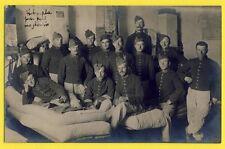 cpa NANCY Carte Photo prise dans une Chambrée MILITAIRES SOLDATS du 69e Régiment