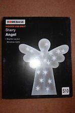 New 2 x Indoor Large Angel Lights - Children's room Ornament Christmas Nativity