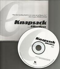 KNAPSACK Effortless PROMO Radio DJ CD single 1996 USA MINT
