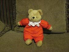 "RARE Vintage 1993 GIBSON Plush Red Puffalumps 14""  BEAR Beautiful EUC *"