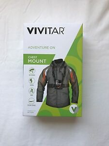 Vivitar Pro Series Chest Strap Mount GoPro Compatible
