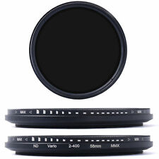 58mm Variable ND Filter Neutral Density per Canon EOS 700D 650D 600D 450D LF111