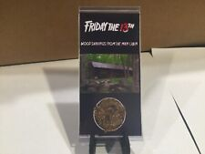 Friday the 13th Movie Prop - Wood Shavings - screen used neca ultimate jason