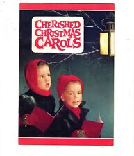 Cherished Christmas Carols Songbook Mid Century Children Fullerton S&L