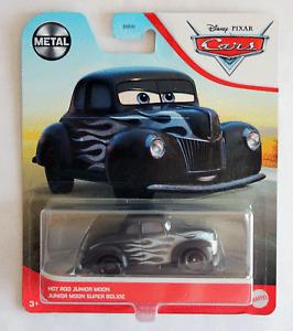 Disney Pixar Cars Metal Series 2021 Hot Rod Junior Moon Imperfect Packaging