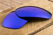 Blue Sapphire Iridium Mirrored Polarized Sunglass Lenses for Oakley Jawbone