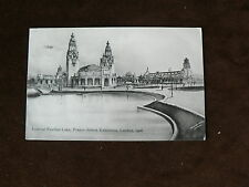 Franco-British Exhibition 1908 Postcard, Imperial Pavilion Lake