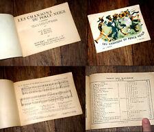 les chansons du perce-neige 1er recueil 25 choeurs à 2, 3, 4 voix 1945
