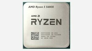 AMD Ryzen 5 5600X 4.6GHz 6 Cores 12 Threads AM4 CPU [TRAY] [EXPRESS]