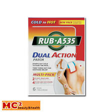 RUB A535 Dual Action Multi-Pack Patches, 6ct
