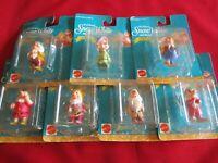 Walt Disney's, The Seven Dwarfs. All 7 Dwarfs Only. NEW Old Stock. Age 3 Up.