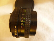 Objectif Photo pour PENTAX SLR COSINON-S 50 mm f 1:2 - CHINON Ricoh Petri PK adapter. J15