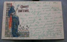 """rare cpa Editions CINOS """" cabaret des Quat'z'arts """" par Abel TRUCHET bon état"""