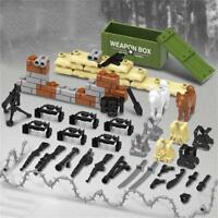 Military Building Blocks Bricks Figures Assembled Toy Accessories Kit Puzzle Toy