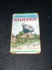 THE OBSERVER'S BOOK OF GEOLOGY c1967
