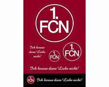"AUFKLEBERKARTE STICKER AUFKLEBER ""Ich bereue ..."" 1. FC NÜRNBERG 1. FCN NEU"