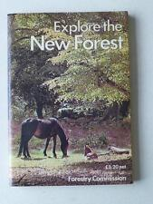 Explore The New Forest Forestry Commission Vintage Guide with Maps 1981