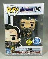 Funko POP! Funko Shop Exclusive Loki #747 Glow In The Dark GITD