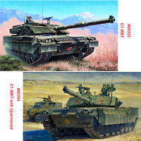 Trumpeter 00332 00394 1/35 Scale Italian C1 Ariete MBT/with Uparmored Model Kits