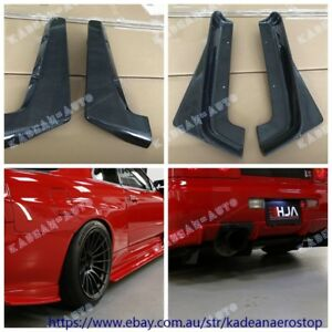 CARBON HASEMI STYLE REAR BUMPER EXTENSION ADD FOR R34 GTR