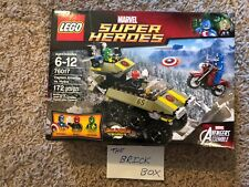 LEGO SET 76017 MARVEL CAPTAIN AMERICA VS. HYDRA - NEW & SEALED - FREEE SHIPPING