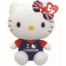 Ty Beanie Babies 41032 Hello Kitty I Love London
