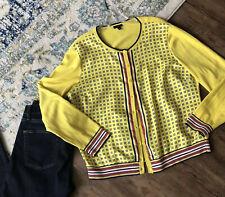 Talbots Cardigan Size XL Cardigan Sweater Yellow