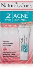 Nature's Cure Two-Part Acne Treatment System for Women 1 month: 60 TABS