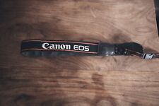 Genuine Original OEM Canon Red 1 Width Neck Strap for Canon EOS and EOS Rebel Se