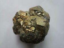 Mineralien: Pyrit ( 55x50x50mm Elba / Italien )