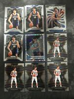 LOT (9) 2019-20 Jaxson Hayes RC PELICANS Prizm, Select, Optic Disco