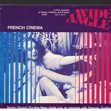 Wide Angle Vol 4 No 4 1981 French Cinema Renoir New Wave Truffaut Interview