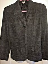 Gustavo NWOT NEW Gray Womens Size 12 3 Button sophisticated Blazer  $268
