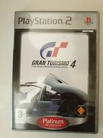 Gran Turismo 4 - Platinum (PS2) - Francais Edition, new but NOT sealed.