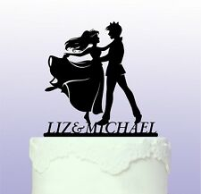 Personalised Prince and Princess Cake Topper