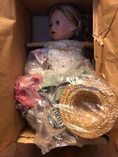 Boyds Yesterday's Child Porcelain Doll 4944 Amanda w/ Millie.The Hat Shoppe Le