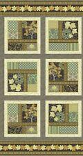 Maple Stories Panels Fall Cotton Quilt Fabric  Sasha K  EBI  BFab