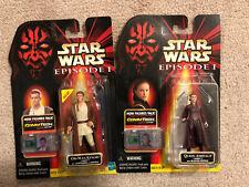 Set of 2 - Star Wars Episode 1 Obi-Wan Kenobi And Queen Amidala - Naboo Outfits