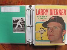 Astros(Notebook/104 Pages/100 Autographs/170 Players/LARRY DIERKER/J. R. RICHARD